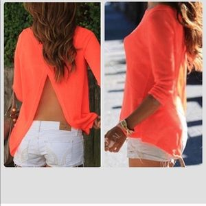 Super cute top. Perfect for summer!
